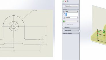 Tips & tricks: Skapa skiss med hjälp av bildfil i Solidworks