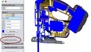 SolidWorks 2014 - Ny funktionalitet i Section View