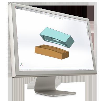 SolidWorks Formverktygsmodellering