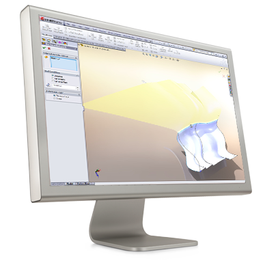 SolidWorks Ytmodellering