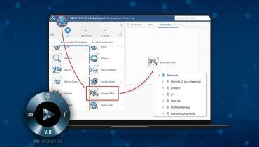 3DEXPERIENCE: Hur man organiserar sina filer