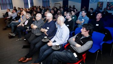 Attendees at the Metal X event at Nexttech