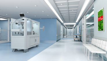 Careboo-enhet i sjukhusmiljö