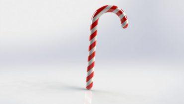 Använd SOLIDWORKS för att skapa julgodiset