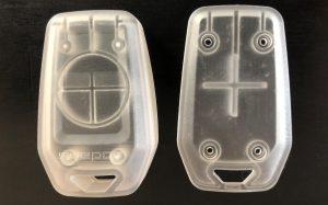 3d-utskrivna delar till en RFID-nyckel