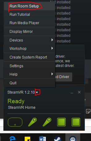 Instructions to setup the VR HTC Vive and eDrawing - PLM