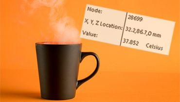 Hur snabbt svalnar en kopp kaffe?
